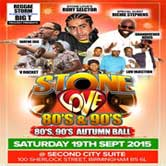 Stone Love 80s & 90s Autumn Ball
